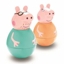 NEW Peppa Pig Weebles Wobbily Weeble Grown-Ups **Choose Mummy Pig or Daddy Pig