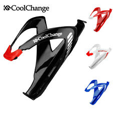 Coolchange Cycling Bicycle Water Cup Bottle Cage Glass Fiber Bike Bracket Holder