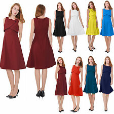ELEGANT DRESS VINTAGE RETRO 1960S COCKTAIL OFFICE WEAR TO WORK BUSINESS DRESSES