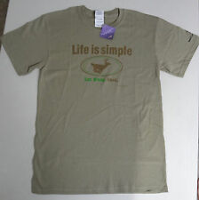 LIFE IS SIMPLE - EAT. SLEEP. HUNT Adult T-Shirt - SM- 2XL Tee Shirt For Hunters!