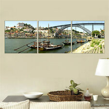 Unframed Canvas Painting Cityscape Porto Wall Picture for Living Room Home Decor
