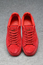 New Style @Rihanna Fenty x Puma Creepers Suede All Red Women's Sz