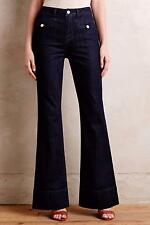 NEW ANTHROPOLOGIE $158 Pilcro Superscript Flare Jeans Womens Pants Stretch NWT