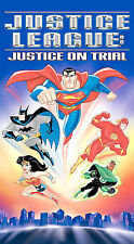 Justice League - Justice on Trial (DVD, 2003) MINT