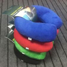 Best Microbead Neck Pillow Supersoft Travel Cushion Sleep Support For Flights  @