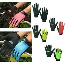 Kids Windproof Full Finger Cycling Gloves MTB Road Bike Racing Bicycle Gloves