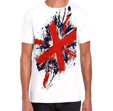 London UK  UNISEX Novelty Souvenir Premium Quality T.shirt in White