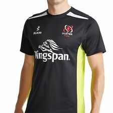 Ulster Rugby 16 Performance Athletic Fit Gym T-shirt - Black
