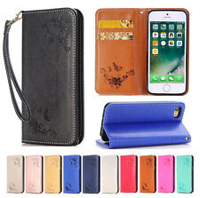 Magnetic Flip Leather Wallet Cards Holder Stand Case Cover For iPhone 7/ 7 Plus