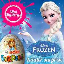 *SEALED RARE* 5 or 10 Disney Frozen Kinder Surprise Eggs Limited Edition