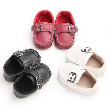 NEW Anti-slip Baby Toddler Boy Girl Crib Pink Cute Shoes Infant 0-18 Months #BS7
