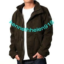 NWT ABERCROMBIE & FITCH MENS OUTERWEAR COAT JACKET OLIVE GREEN SIZE M,L A&F