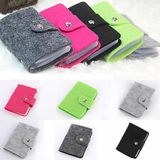 Retro Women's Pouch ID Credit Card Cash Holder Wallets Organizer Case Box Pocket