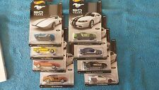 Hot Wheels Limited Edition 50th Anniversary Mustang Collectors Set of 8 Cars NIB