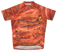 Primal Wear Bacon Cycling Jersey Mens short sleeve bicycle bike with DeFeet sox