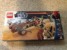 LEGO Star Wars Desert Skiff (9496) New Sealed Retired Set.  Boba Fett Lando++
