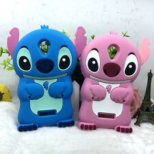 3D Cute Stitch Silicone Phone Case Cover For Micromax Q380 Protective Shell