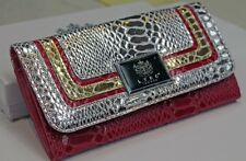Ladies WomenFashionable LYDC London Diamante Floral Clutch Purse Hand Bag Wallet