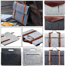 """Woolen Felt Sleeve Case Laptop Bag Carry Pouch Cover For 11.6"""" - 15.6"""" HP Stream"""