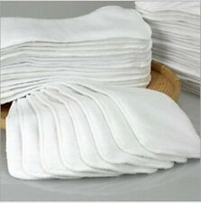 1-20Pcs Reusable Baby inserts liner for Cloth Diaper Nappy microfiber Optional @