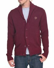 Parish Nation Bordeaux Shawl Cardigan