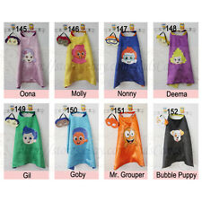 Bubble guppies capes with masks - bubble guppies kids birthday party supplies