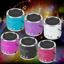 Mini Rechargeable Portable Wired Speaker Support TF Card For Phone Tablet BE