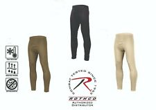 Rothco Thermal Underwear Long Johns  Military Gen III ECWCS Silk Weight PANTS