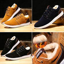 Men's Vintage Board Shoes Fashion Breathable Casual Sports Sneakers Winter Warm