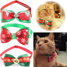 New Fashion Xmas Dog Puppy Cat Kitten Pet Toy Kid Bow Tie Necktie Collar Clothes