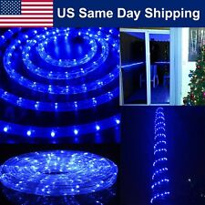 LED Rope Light 8 Mode for Christmas Landscape Decoration Indoor/Outdoor Blue