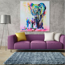 Elephant Canvas Print Wall Art Painting Picture Wall Stickers Home Decor 5 Sizes