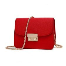 Women Leather Handbags Chain Solid Shoulder Bag Mini Bags Purses And Handbags