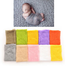 1 X Newborn Baby Knitted Mohair Wrap Cocoon Photo Photography Prop btre