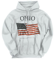 Ohio Patriotic Home State American USA T Shirt Flag Gift Pride Hoodie Sweatshirt