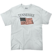 Tennessee Patriotic Home State American USA T Shirt Flag Gift T-Shirt Tee