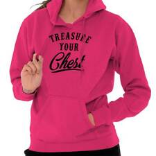 Breast Cancer Awareness Treasure Your Chest Beat Cancer Pink Hoodie Sweatshirt