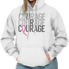 Breast Cancer Awareness Courage Pink Ribbon Beat Cancer Gift Hoodie Sweatshirt