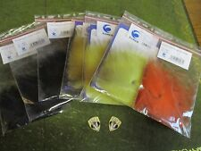 Eumer Select Grade 3x Long Arctic Fox Tails All Colours for Salmon & Saltwater