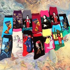 Women Men Warm Van Gogh Art Painting Socks Modern Renaissance Starry Night