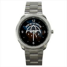 NEW Wrist Watch Stainless Unisex Umbrella Bring Me the Horizon