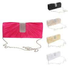 Shiny Crystal Envelopes Clutch Womens Evening Purse Shoulder Hand Bag with Chain