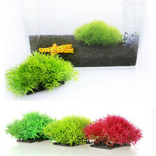 Water Grass Plastic Water Plant for Aquarium Fish Tank Ornament Decoration CHUS