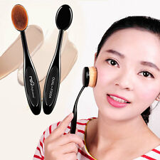 10 Pcs Beauty Toothbrush Shaped Foundation Makeup Oval Cream Puff Brushes BE