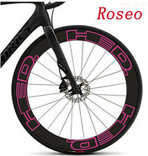 2017 Road Bike Wheel Rim Reflective Stickers for HED 30 mm Bicycle Race Decals