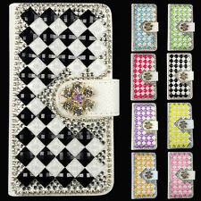 3D Handmade DIY Magnetic Flip Wallet PU Leather Case Cove For Nokia Lumia