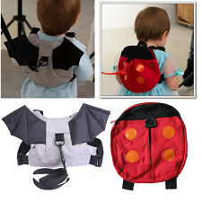 Safety Harness Strap Baby Kid Toddler Walking Cosplay Backpack Reins Bag new