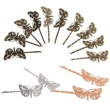 10pcs Vintage DIY Hair Bobby Pins Retro Grisp slides Hair Accessories Dragonfly
