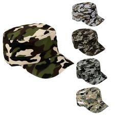 Unisex Mens Army Camouflage Military Camo Combat Soldier Patrol Hat Baseball Cap