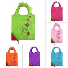1PCS Strawberry Foldable Shopping Bag Tote Reusable Eco Friendly Grocery Bag
